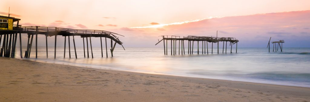 Frisco Pier, Cape Hatteras National Seashore