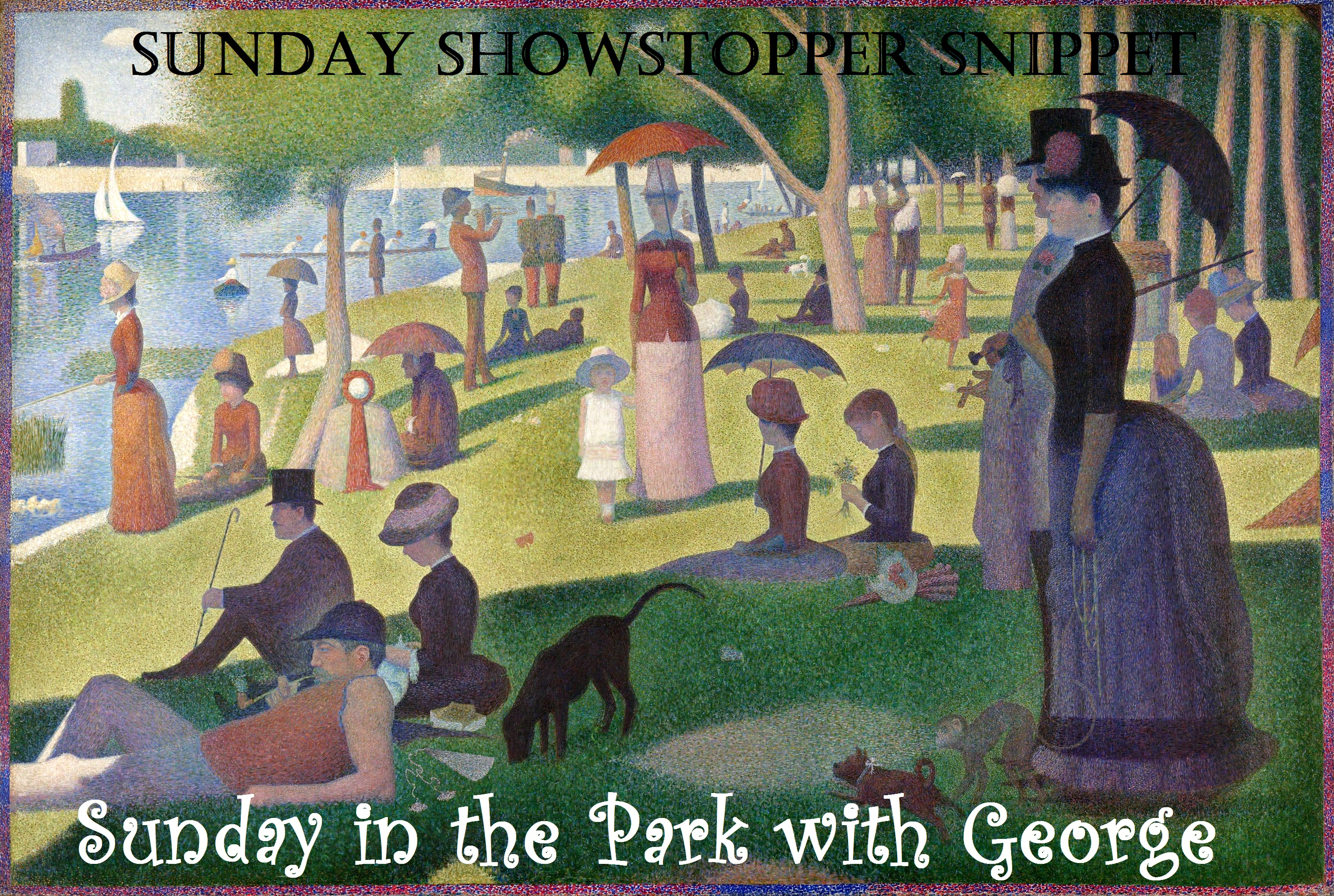 A Sunday on La Grande Jatte (Georges Seurat)