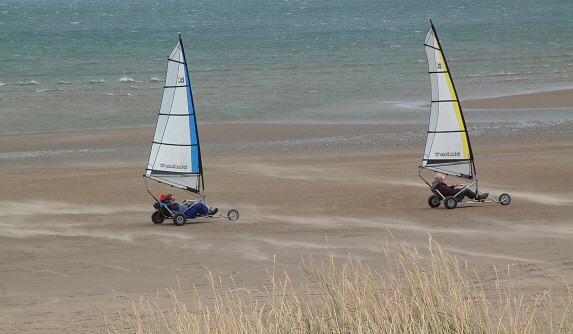 Sand Yacht Racing