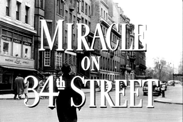 Miracle on 34th Street - Faith